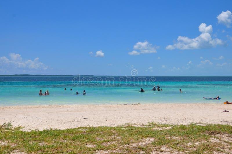 Île de CocoCay de jour parfait image stock