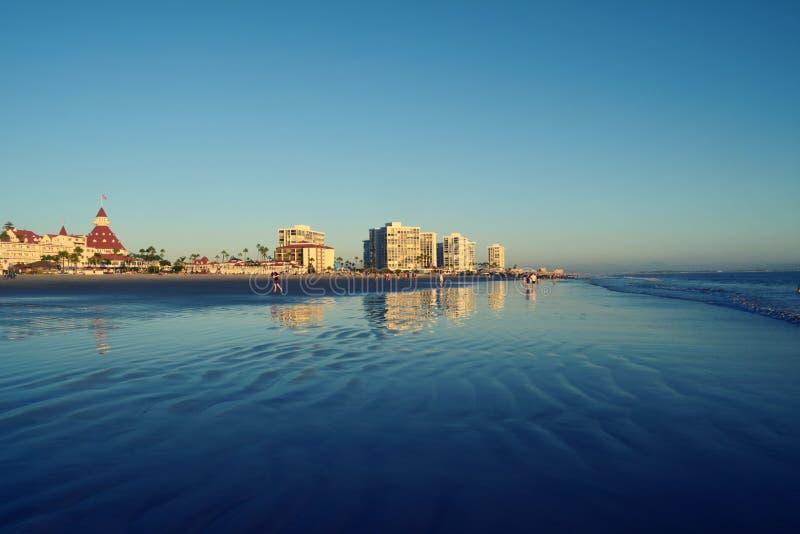 Île de Coronado, San Diego images libres de droits