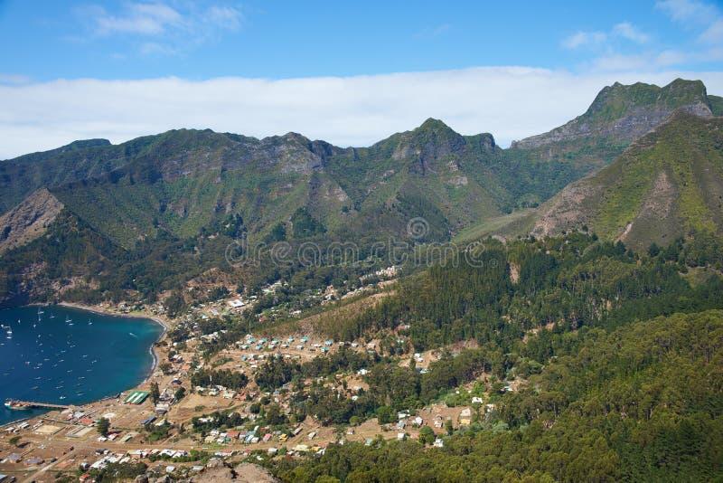Île de crusoe de Robinson photographie stock libre de droits