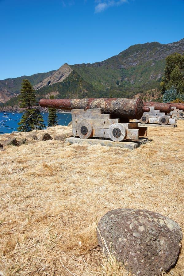 Île de crusoe de Robinson photo stock
