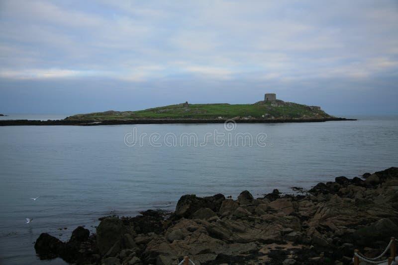 Île de Dalkey. photos stock