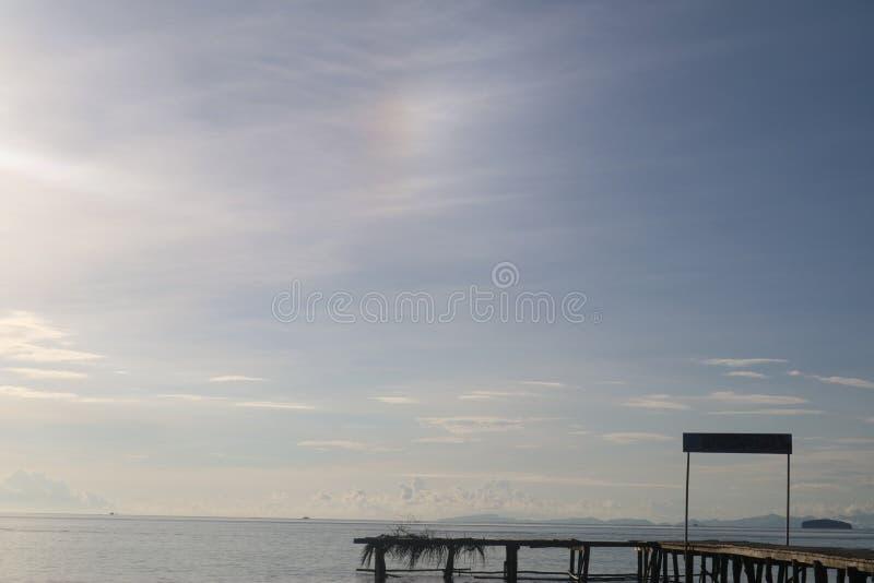 Île de dock photographie stock