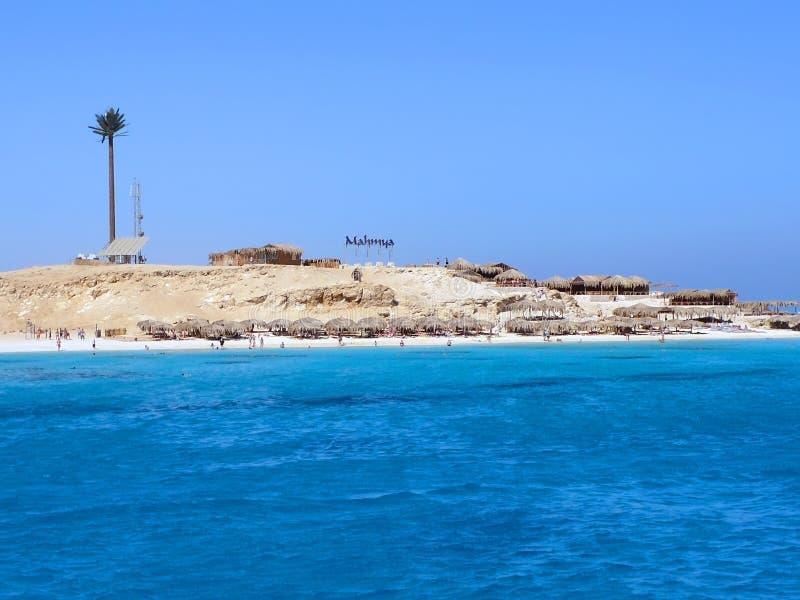 Île de Giftun images libres de droits