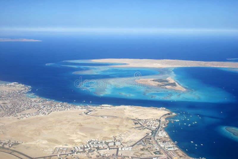 Île de Giftun, Egypte images libres de droits