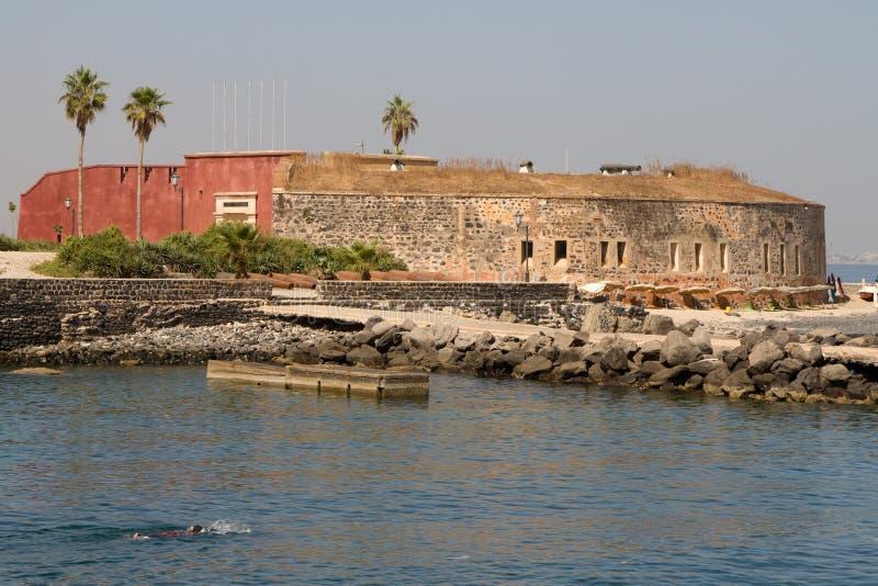 Île de Goree images libres de droits