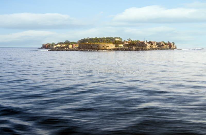 Île de Goree, Dakar, Sénégal, Afrique image stock