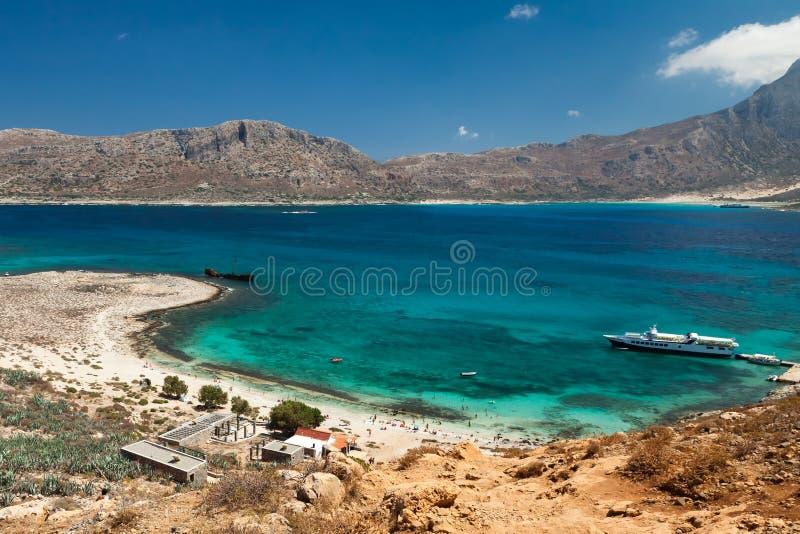 Île de Gramvousa images libres de droits