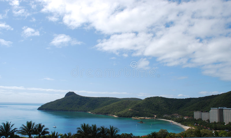 Île de Hamilton images libres de droits