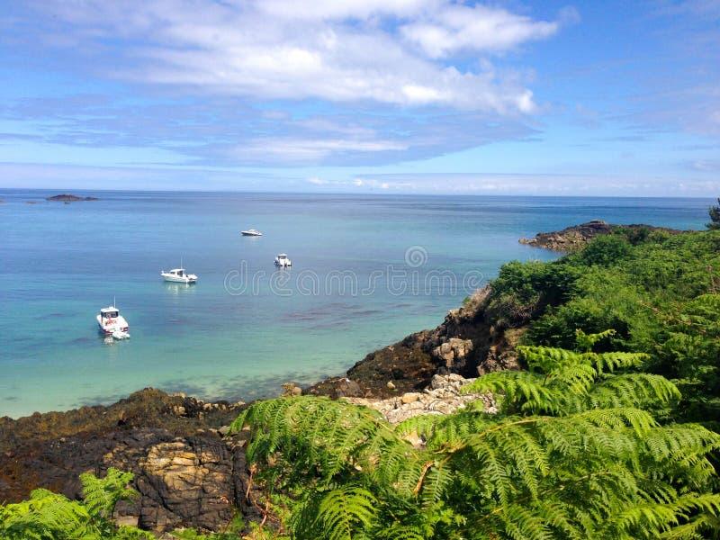 Île de Herm photo libre de droits