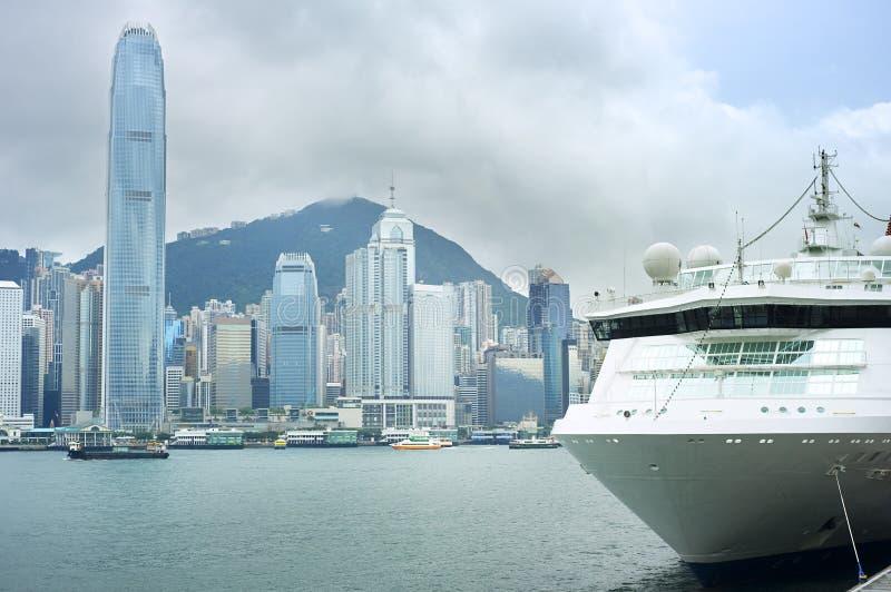 Île de Hong Kong image libre de droits