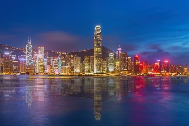 Île de Hong Kong de Kowloon photos stock