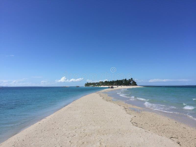 Île de Kalanggaman image libre de droits
