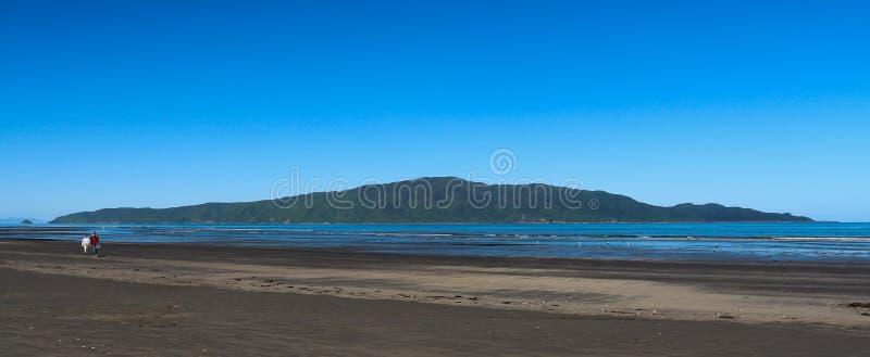 Île de Kapiti image libre de droits