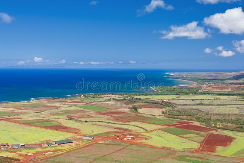 Île de Kauai de l'air images stock