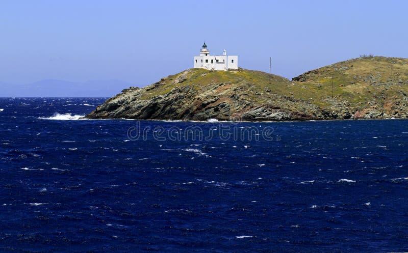 Île de Kea en Grèce photographie stock libre de droits