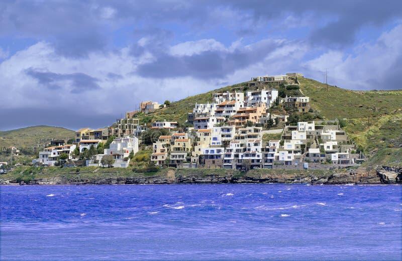 Île de Kea en Grèce photo libre de droits