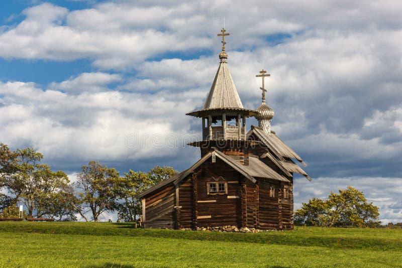 Île de Kizhi, Petrozavodsk, Carélie, Fédération de Russie - 20 août 2018 : Architecture folklorique et l'histoire de la construct image stock