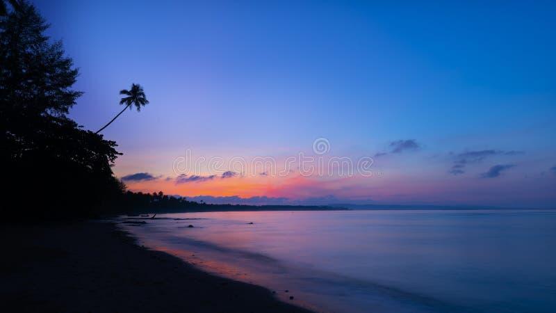 Île de Koh Mak, Trat, Thaïlande images libres de droits