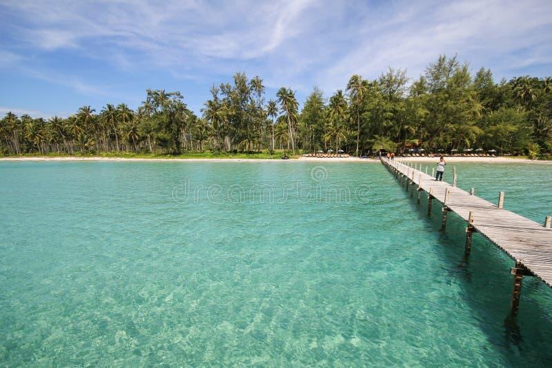 Île de Kood, Koh Kood, Trat, Thaïlande photographie stock libre de droits