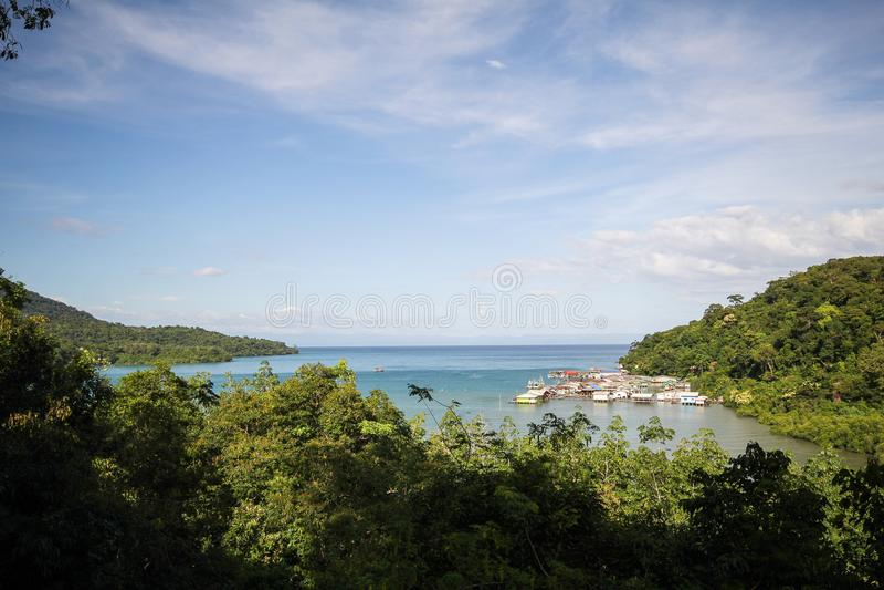 Île de Kood, Koh Kood, Trat, Thaïlande photographie stock