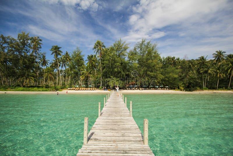 Île de Kood, Koh Kood, Trat, Thaïlande image libre de droits