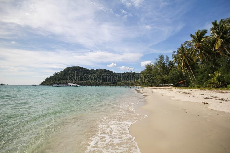 Île de Kood, Koh Kood, Trat, Thaïlande photo libre de droits