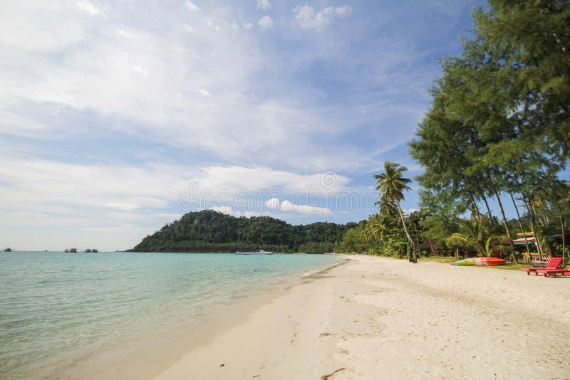 Île de Kood, Koh Kood, Trat, Thaïlande image stock