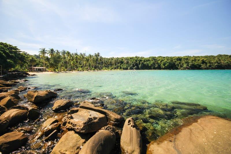 Île de Kood, Koh Kood, Trat, Thaïlande images libres de droits