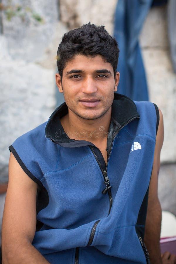 Île de Kos, Grèce - crise européenne de réfugié photo libre de droits