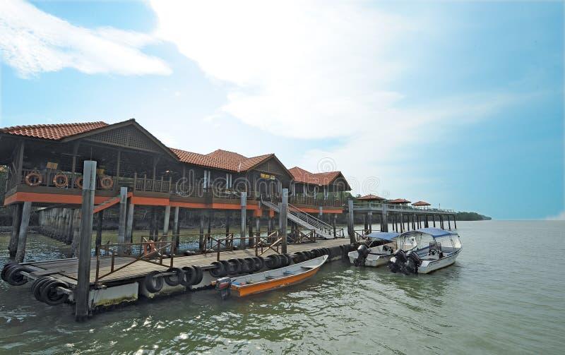 Île de Kukup photo stock