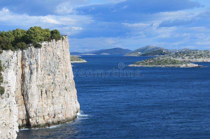 Île de la Croatie - de Dugi Otok photos libres de droits