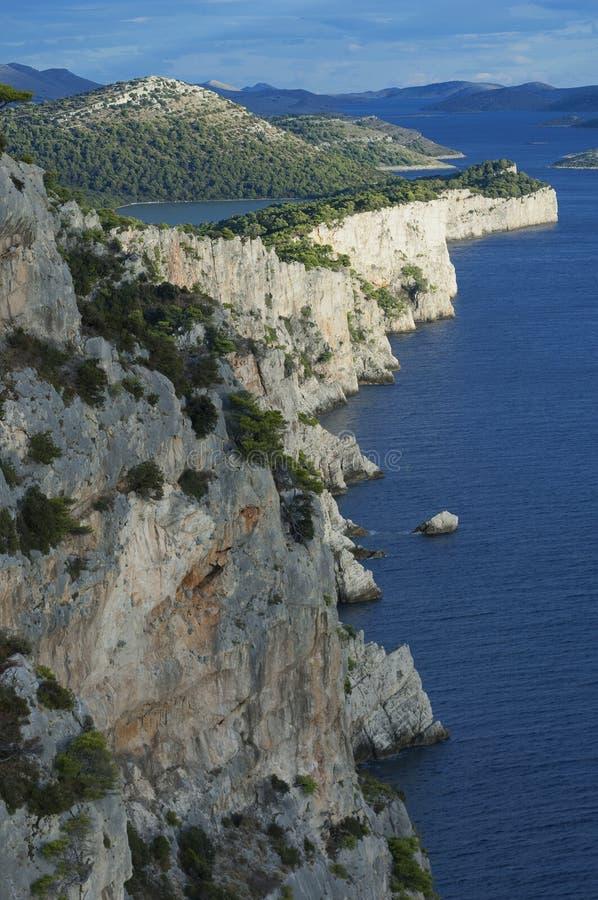 Île de la Croatie - de Dugi Otok image stock