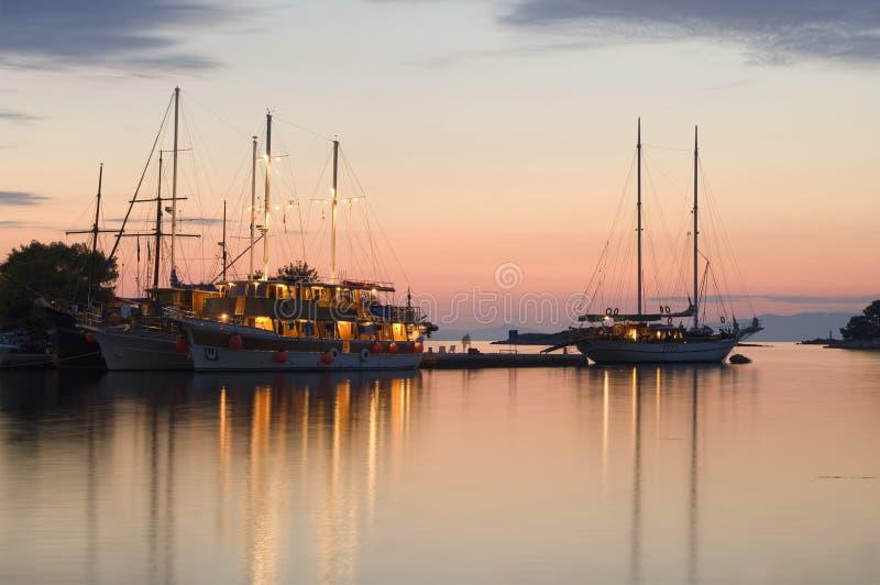 Île de la Croatie - de Mljet photos libres de droits