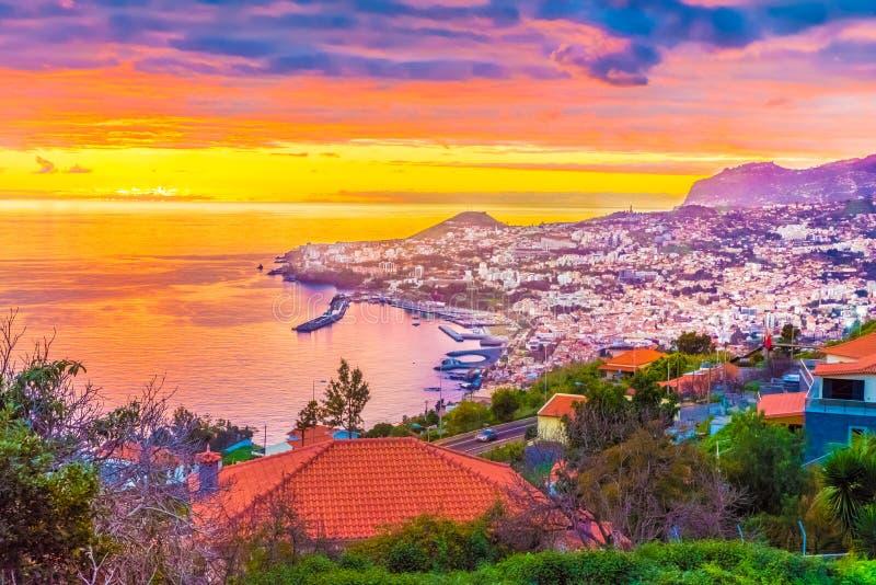 Île de la Madère d'†de Funchal «, Portugal images libres de droits