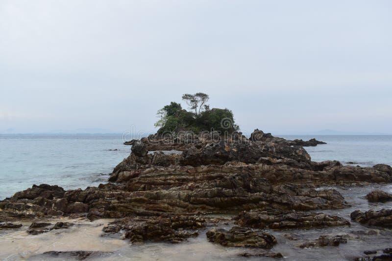 Île de la petite terre photo libre de droits
