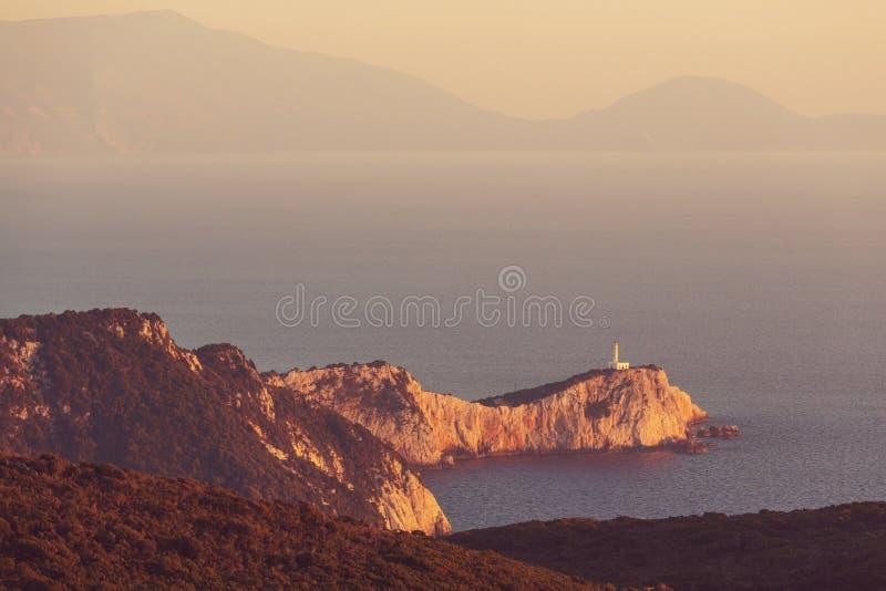 Île de Leucade photo stock