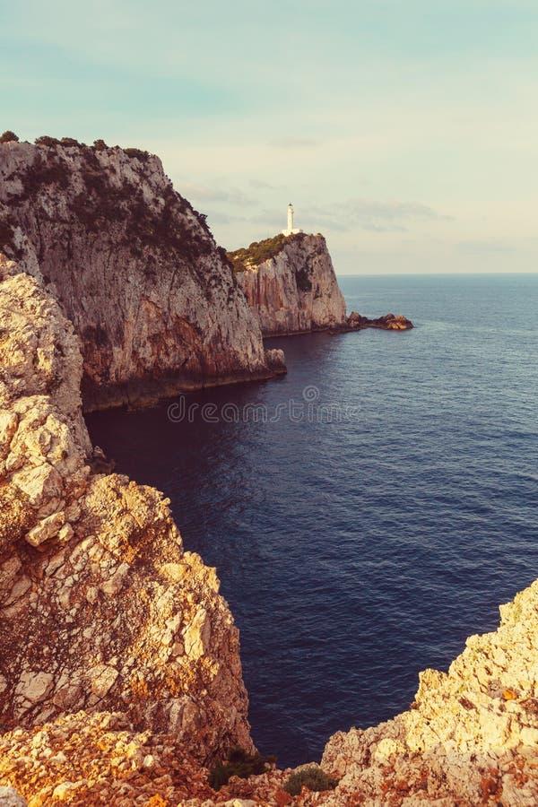 Île de Leucade photographie stock libre de droits