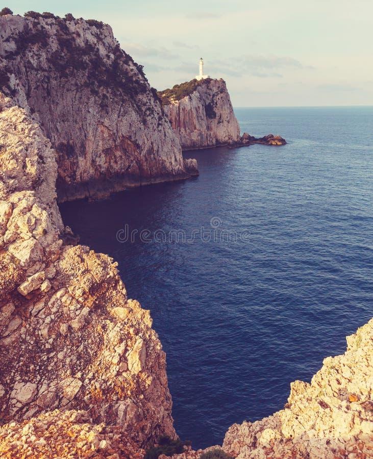 Île de Leucade photos stock