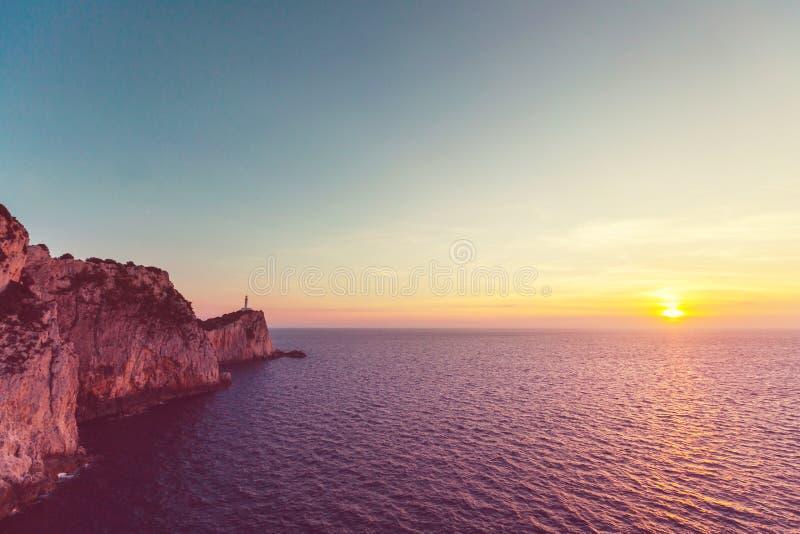 Île de Leucade photo libre de droits