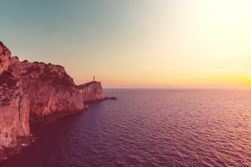 Île de Leucade photos libres de droits