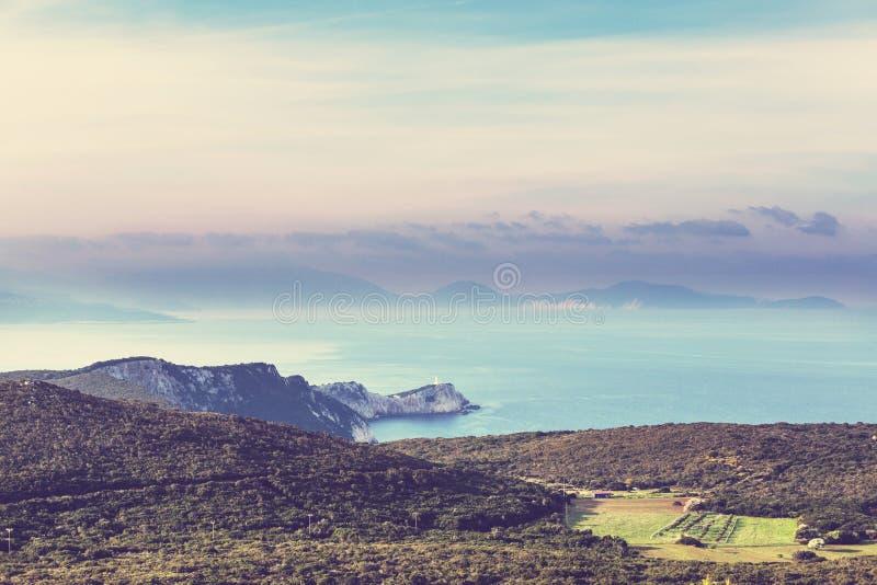 Île de Leucade images stock