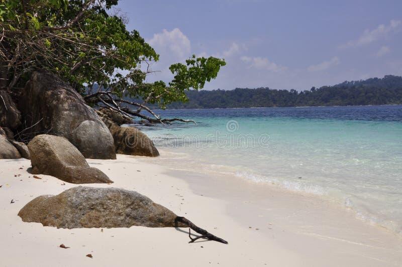 Île de Lipe, Thaïlande image stock