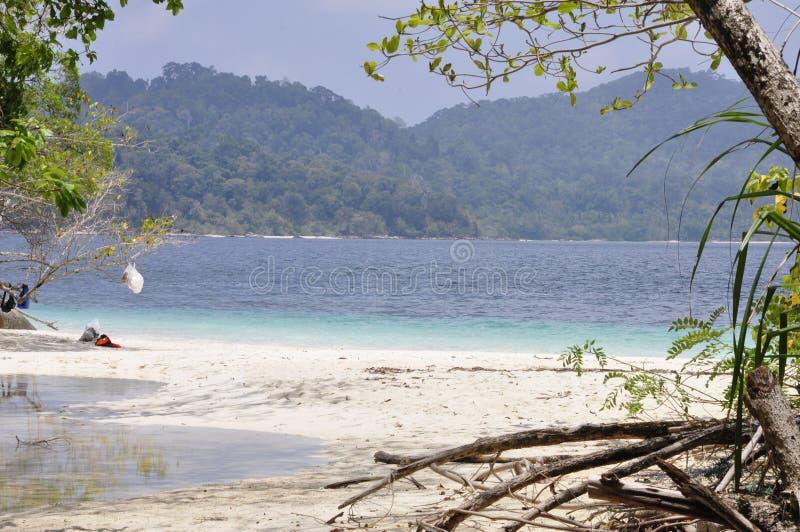 Île de Lipe, Thaïlande photos stock