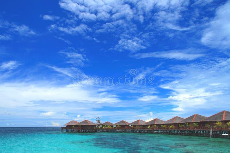 Île de Mabul photos stock