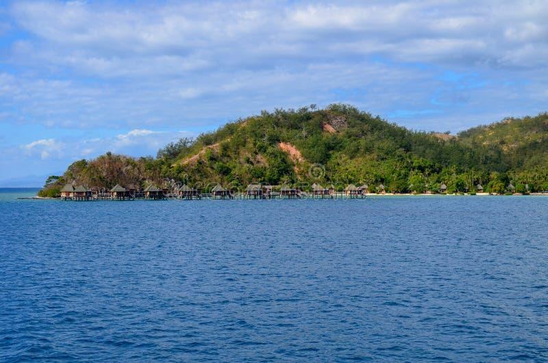 Île de Malolo, Mamanucas, Fidji photographie stock