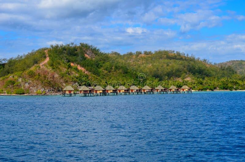 Île de Malolo, Mamanucas, Fidji image stock
