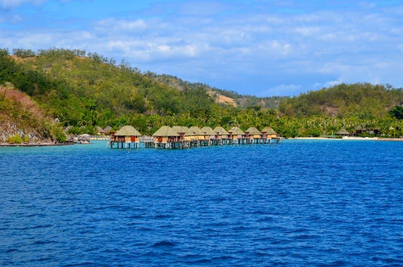 Île de Malolo, Mamanucas, Fidji photo stock