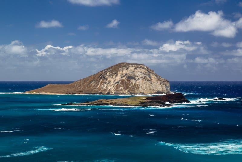 Île de Manana, Oahu photos stock