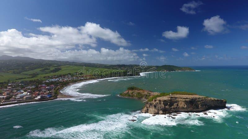 Île de marie de Sainte photo libre de droits