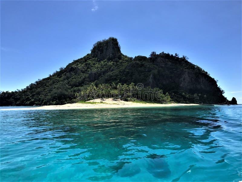 ?le de Matamanoa de l'?le fidji photographie stock libre de droits